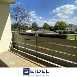 Gut geschnittene 3-Zimmer-Whg. mit Balkon und Einbauküche
